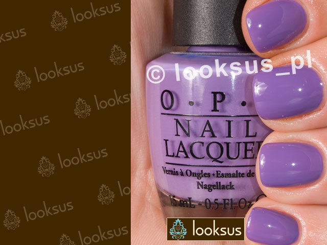 OPI Lakier NLB87 A Grape Fit