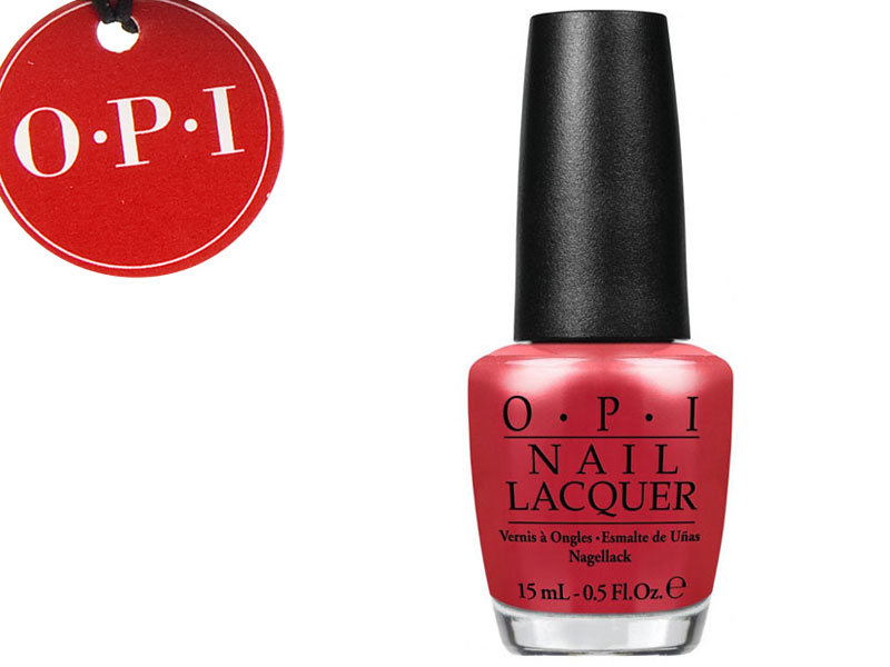OPI Lakier NLH69 Go With the Lava Flow
