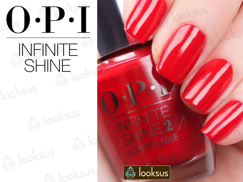 OPI Infinite Shine ISL09 Unequivocally Crimson