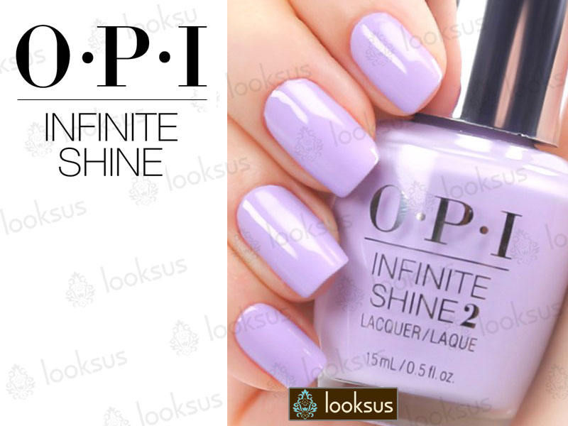 OPI Infinite Shine ISL11 In pursuit of purple