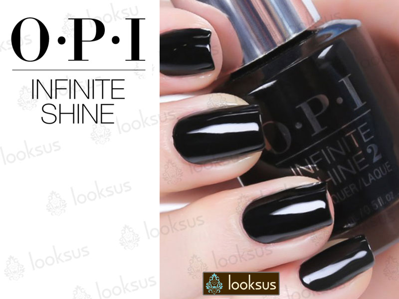 OPI Infinite Shine ISL15 Were in the black