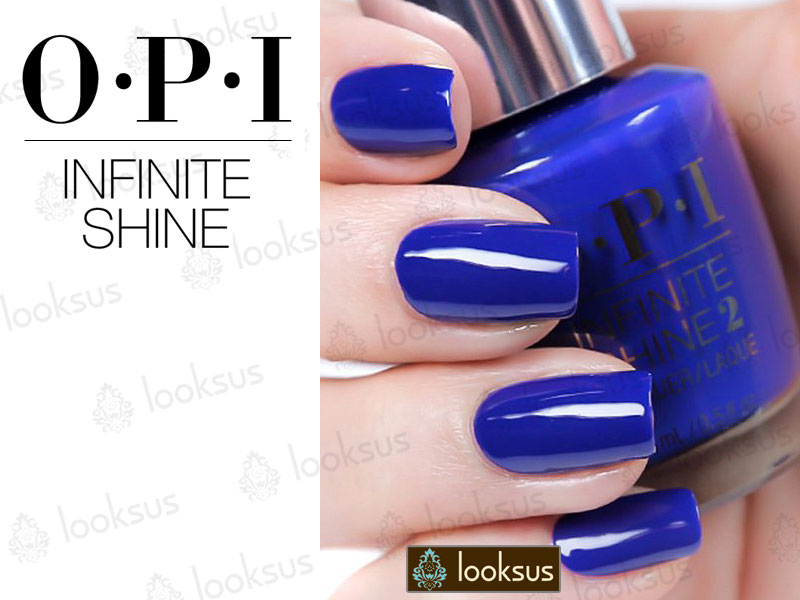 OPI Infinite Shine ISL17 Indignantly Indigo
