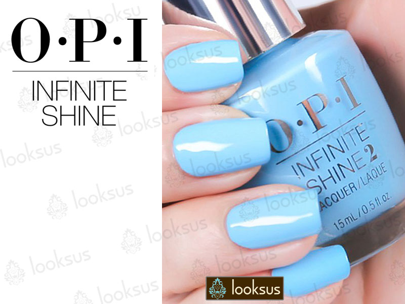 OPI Infinite Shine ISL18 To Infinity And Blue-yond