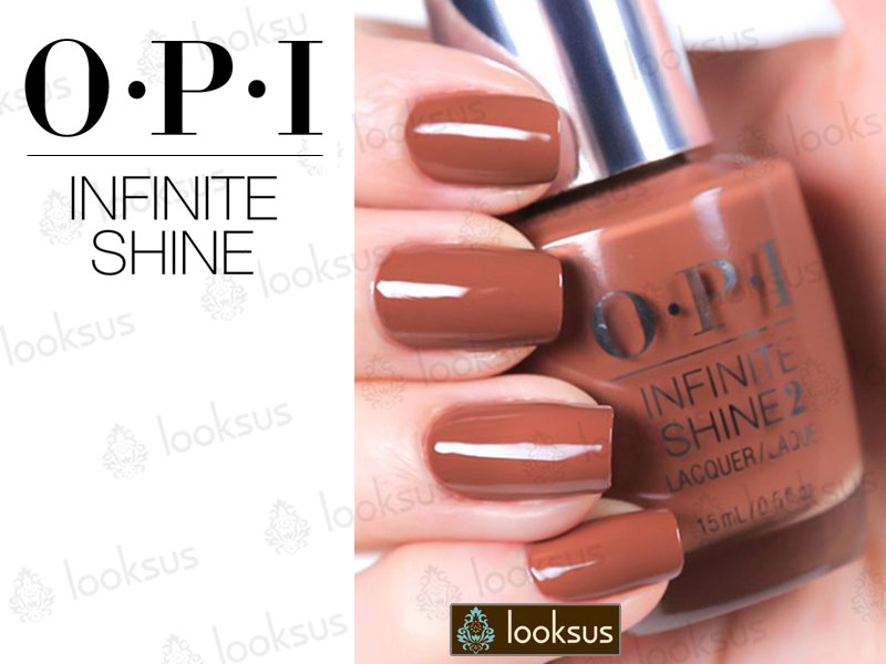 OPI Infinite Shine ISL23 Brains And Bronze