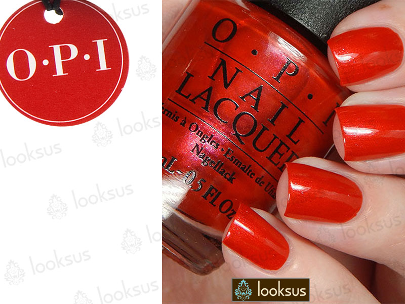 OPI Lakier NLV30 Gimme A Lido Kiss