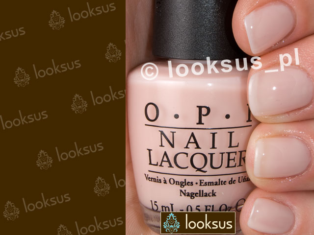 OPI Lakier NLS86 Bubble Bath