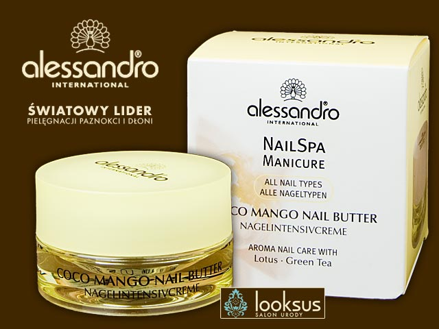 Alessandro Coco Mango Nail Butter 15ml - Nail SPA Manicure